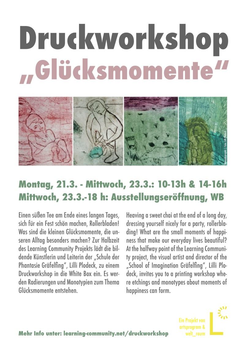 LC Plakat Lilli Workshop